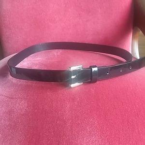 NWOT Tommy Hilfiger Shiny Black Belt